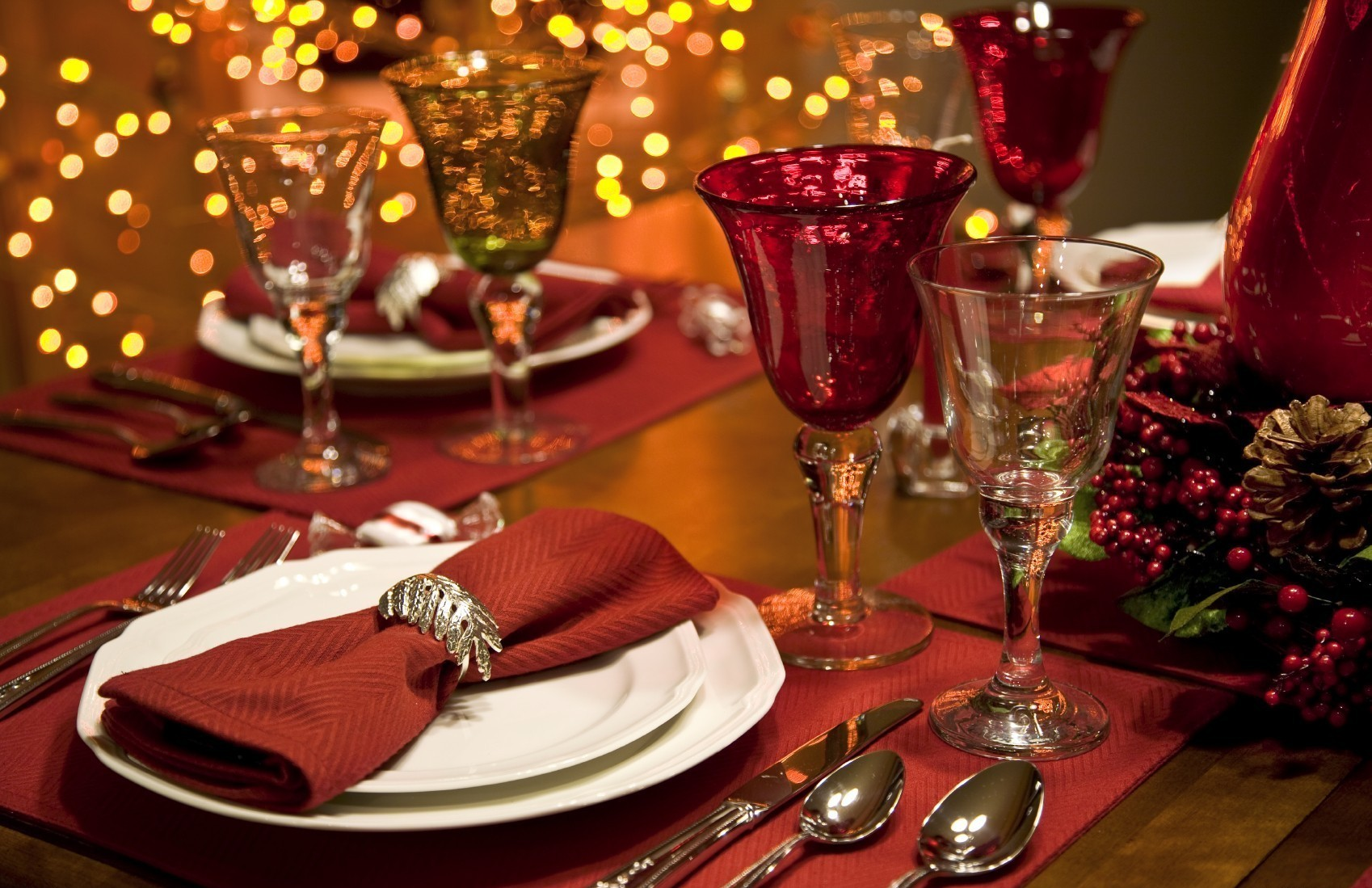 christmas dinner wallpapers1